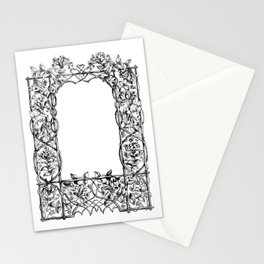 """""""Much Ado About Nothing"""" Cast Frame Stationery Cards"""