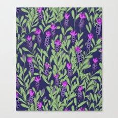 April blooms(Lavender_blue) Canvas Print