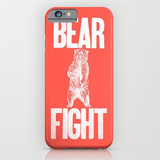 Bear Fight iPhone & iPod Case