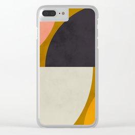 geometric art III Clear iPhone Case