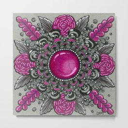 Ornate Jasper Metal Print