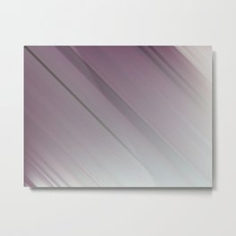 Lavender Subtlety - An Abstract Piece Metal Print