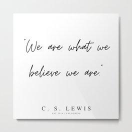21    | 200320 |  C.S Lewis Quotes Metal Print