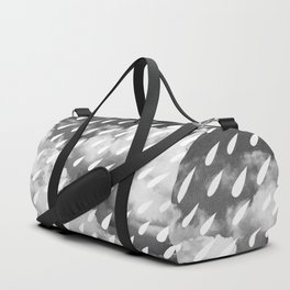 Storm Clouds + Droplets Duffle Bag