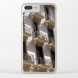 Barcelona architecture Clear iPhone Case