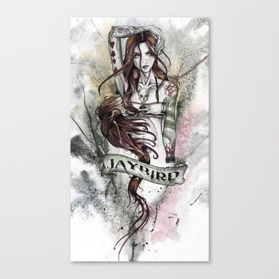 JAYBIRD art & design Canvas Print