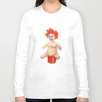 sparkles Long Sleeve T-shirts featuring Sparkles by Distorted North