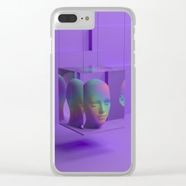 On Display Clear iPhone Case