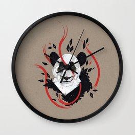 PANDA RIBBONS Wall Clock