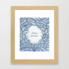 Happy Holidays! Framed Art Print