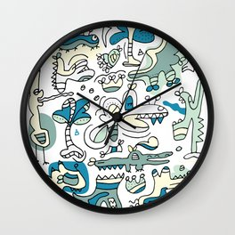 The Ghost Who Walk Wall Clock