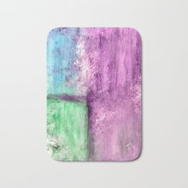 Abstract Window Bath Mat