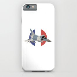 Mirage French Jet Fighter iPhone Case