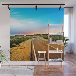 Open Road in Big Bend Wall Mural