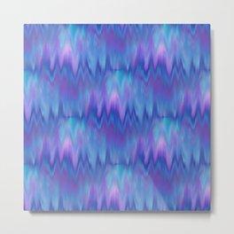 I Love Blue 2-Ocean Frequency  Metal Print