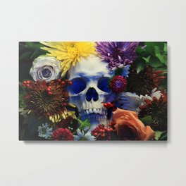 Death and Beauty Metal Print