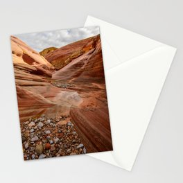 After the Rain - 4, Valley_of_Fire Canyon, Nevada Stationery Cards