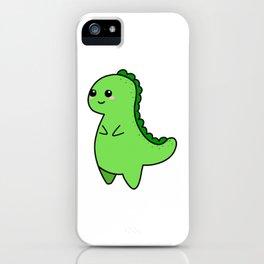 Kawaii Cute T-rex iPhone Case