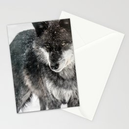 Alpha Wolf Stationery Cards