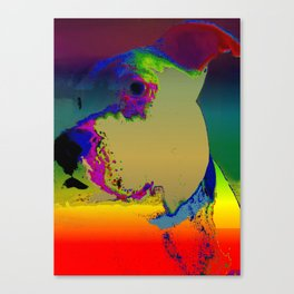 PITTY PAT Canvas Print