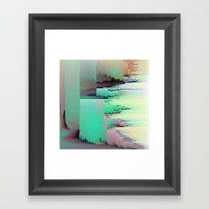 Selfie Drift Framed Art Print