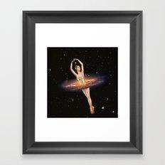Cosmic Ballerina, Part 1 Framed Art Print