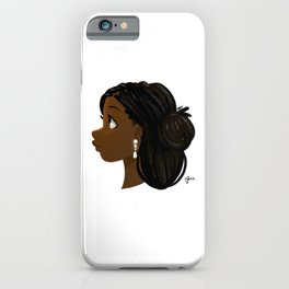 Black Girl Magic 3 iPhone Case