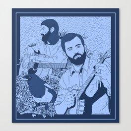 Avett Bros Canvas Print