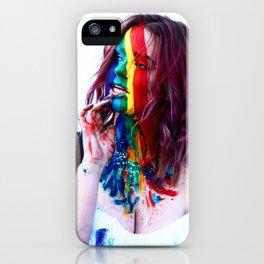 LGTBQ PAINT iPhone Case