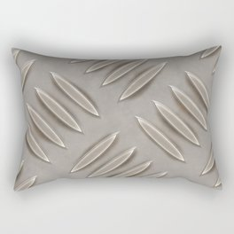 Metal diamond plate Rectangular Pillow
