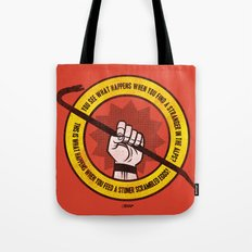 What happens... (Big Lebowski Censored) Tote Bag