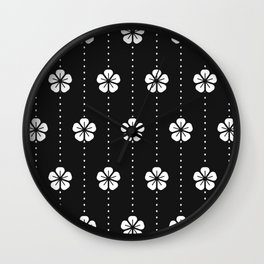 Cherry Blosoms Wall Clock
