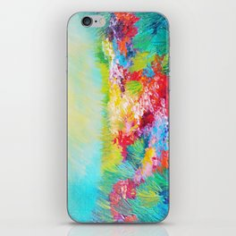 ETHERIAL DAYS - Stunning Floral Landscape Nature Wildflower Field Colorful Bright Floral Painting iPhone Skin
