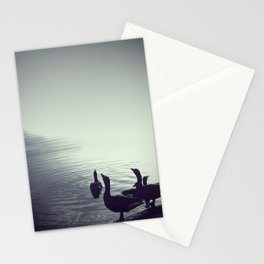 The goose song - Fine Arts Nature Photography Stationery Cards