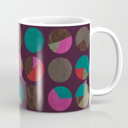 dots and shreds and colors Coffee Mug