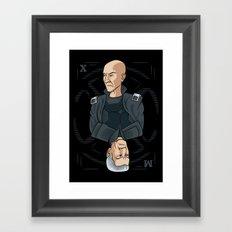 King of the Mutants (X) Framed Art Print