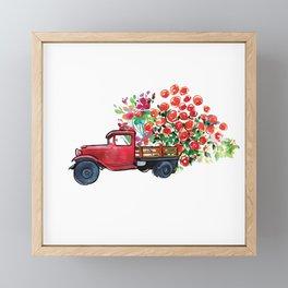 Truck of Love Framed Mini Art Print