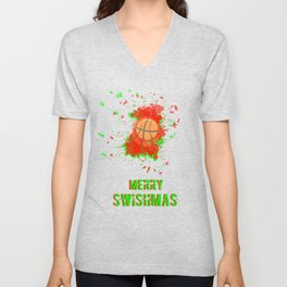 Merry Swishmas Unisex V-Neck