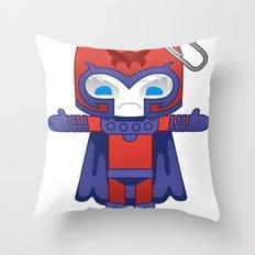 MAGNETO ROBOTIC Throw Pillow