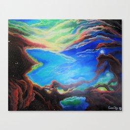 Seahorse Nebula Canvas Print