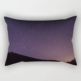 Teide by Night Skies Rectangular Pillow
