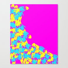 Catarata Pink, 2015 Canvas Print