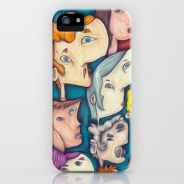 ten people iPhone Case