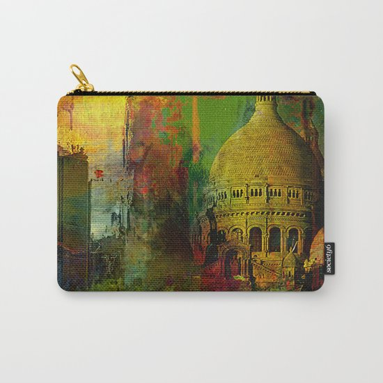 In a street of Paris Carry-All Pouch