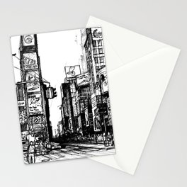 NYC Times Square Stationery Cards