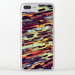 paradigm shift (variant 3) Clear iPhone Case