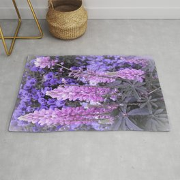 Lively Lupines Rug