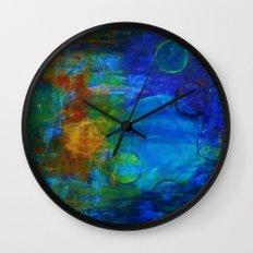 Unseen Worlds Wall Clock