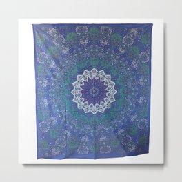Indian Star Tapestry Mandala Wall Hanging Home Decor - See more at: http://www.handicrunch.com/en/pr Metal Print