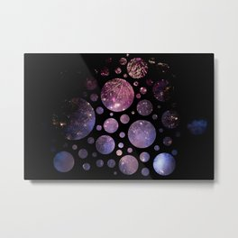 Abstract Fireworks #1 Metal Print